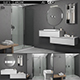Bathroom furniture set Arcom eLy 5