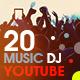YouTube Bundle - 20 Music & DJ Banners