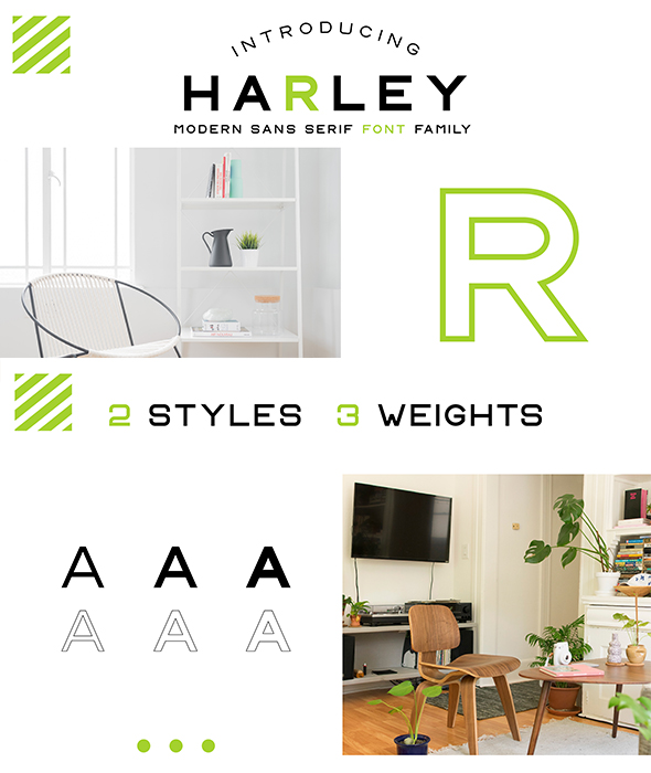 CS Harley Font Family