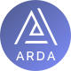 Arda - Bitcoin and Cryptocurrency ICO HTML Template - ThemeForest Item for Sale