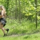 Running Woman Jogging on Forest - VideoHive Item for Sale