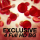 Red Blood Cell Background - 4 Pack