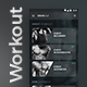 Workout App UI Set | Modern Design - GraphicRiver Item for Sale