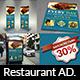 Restaurant Advertising Bundle Vol.17 - GraphicRiver Item for Sale