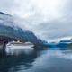 Cruise Liners On Hardanger fjorden - PhotoDune Item for Sale
