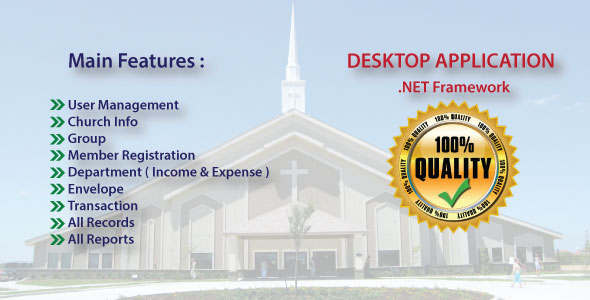 Church Management System With Full Project & Source Code            Nulled