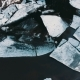 Huge Pieces of Ice on the River During the Ice Debacle - VideoHive Item for Sale