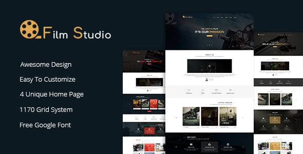 Image of Film Studio - Movie Production, Film studio, Creative & Entertainment HTML Template
