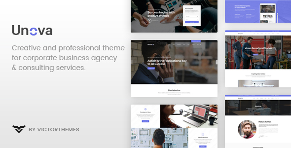 Unova - Consulting Business WordPress Theme - Business Corporate