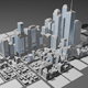 City Pack With More Than 60 Individual Building - 3DOcean Item for Sale