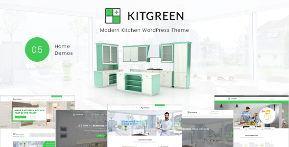 KitGreen - Modern Kitchen WordPress Theme - WooCommerce eCommerce