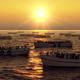Many Boats on Sunset - VideoHive Item for Sale