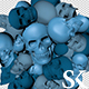Pulsating Skulls - VideoHive Item for Sale