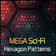 Mega Sci-Fi Hitech Hexagon Patterns - GraphicRiver Item for Sale