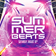 Summer Beats Flyer - GraphicRiver Item for Sale