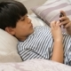 Boy Playing Smartphone Game - VideoHive Item for Sale
