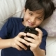 Boy Playing Game on Phone - VideoHive Item for Sale