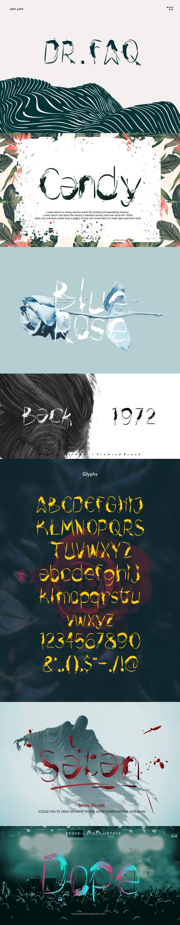 Drfaq font - Cool Fonts