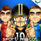Animatable Sports Mascot Character Kit - GraphicRiver Item for Sale