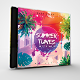 Summer Tunes CD/DVD Photoshop Template