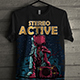 Design T-Shirt with Retro Theme - GraphicRiver Item for Sale