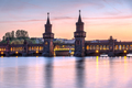 The lovely Oberbaumbruecke across the river Spree - PhotoDune Item for Sale