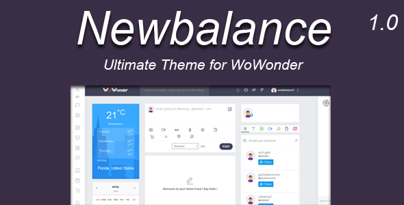 Newbalance - The Ultimate WoWonder Theme - CodeCanyon Item for Sale