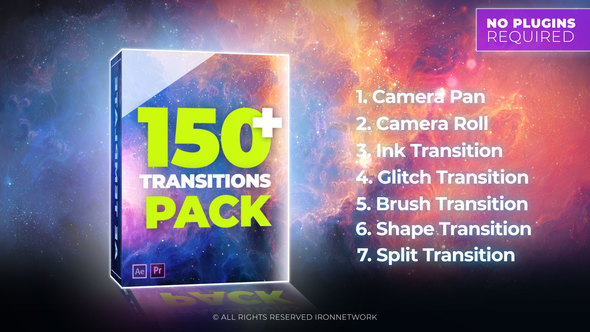 Videohive Transitions 21637768 - Free download