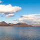 Scenic Lake Toya with Nakajima Island during winter in Hokkaido Japan - PhotoDune Item for Sale