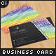 Creative Keywords Business Card - GraphicRiver Item for Sale