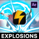 Energy Explosion Elements - VideoHive Item for Sale