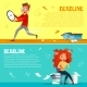 Office Managers Deadline Vector Cartoon