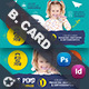 Kids Dental Business Card Templates