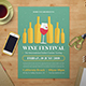 Wine Festival Flyer - GraphicRiver Item for Sale