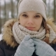 Pretty Girl in Hat Adjusts Her Hat and Smiles - VideoHive Item for Sale