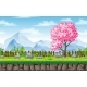 Seamless Spring Nature Background - GraphicRiver Item for Sale
