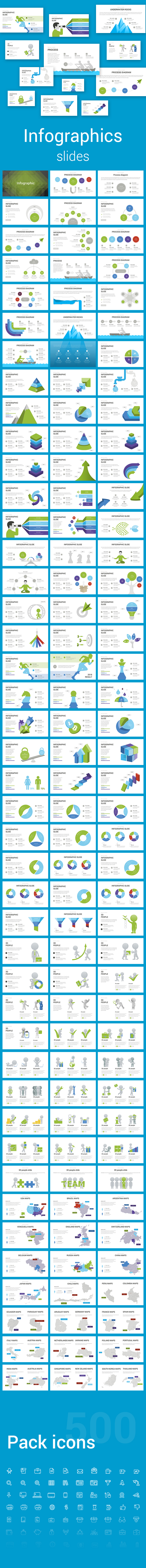 Infographic Keynote Slides - Abstract Keynote Templates
