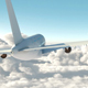 Passenger Plane Fly - VideoHive Item for Sale