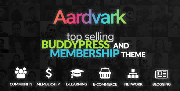 Image of Aardvark - BuddyPress, Membership & Community Theme