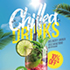 Chill Drinks Party Flyer - GraphicRiver Item for Sale