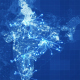 Blue India Map Network Rollback 4K - VideoHive Item for Sale