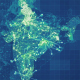 Green India Map Network Rollback 4K - VideoHive Item for Sale