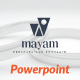 Mayam Creative Powerpoint Templates - GraphicRiver Item for Sale