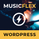 MusicFlex - WordPress Theme for Musicians - ThemeForest Item for Sale