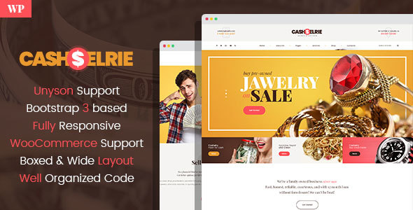 Cashelrie – Pawn Shop WordPress Theme