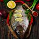 Carp fish with fresh vegetables - PhotoDune Item for Sale