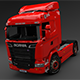 Scania Truck R730 V8 - 3DOcean Item for Sale