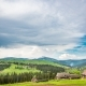 Blue Sky with Clouds Over Mountain - VideoHive Item for Sale