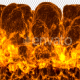 Fire Explosion Logo Reveal with Alpha (4K) - VideoHive Item for Sale