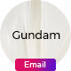 Gundam Email-Template + Online Builder - ThemeForest Item for Sale